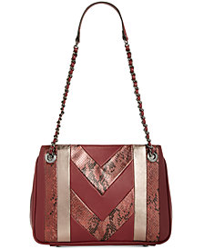 I.N.C. Averry Patchwork Shoulder Bag, Created for Macy's