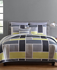 VCNY Home Morgan Reversible 7-Pc. King Quilt Set