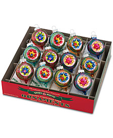 Christopher Radko Christmas Confetti 12-Pc. Ornament Box Set