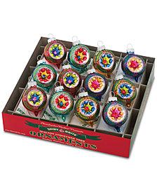 Christopher Radko Christmas Confetti 12-Pc. Ornament Box Set