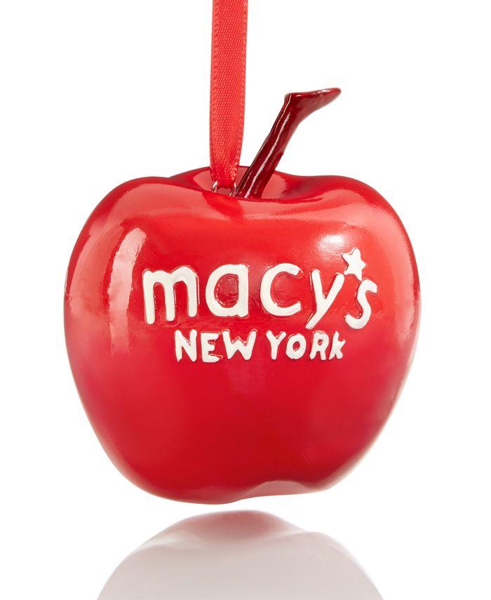 Macy's - NYC Apple Ornament