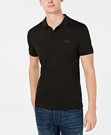 Lacoste Men's Jacquard Polo, Created for Macy's