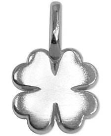 Alex Woo Clover Pendant in Sterling Silver