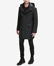 Men's Bonded Car Coat Parka