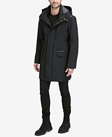 Cole Haan Men's Bonded Car Coat Parka