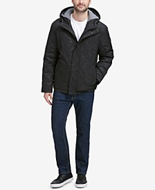Men's Oxford Hooded Jacket