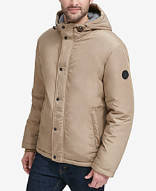 Cole Haan Men's Oxford Hooded Jacket