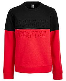 Ideology Big Boys Challenge-Print Sweatshirt, Created for Macy's