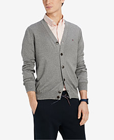 Tommy Hilfiger Men's Signature Cardigan Sweater, Created for Macy's