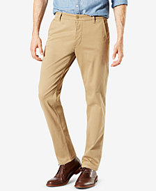 Dockers Men'sTapered Fit Alpha Khaki Supreme Flex Pants