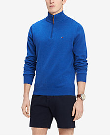 Tommy Hilfiger Men's Quarter-Zip Sweater, Created for Macy's