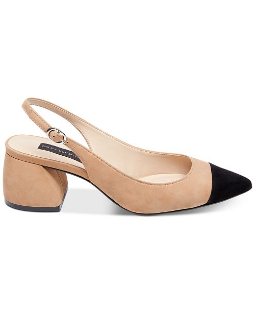 bc6351e9389 STEVEN by Steve Madden Agent Slingback Pumps   Reviews - Pumps ...