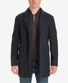 Michael Kors Men's Ghent Stretch Wool Top Coat