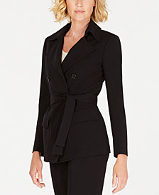 Anne Klein Double-Breasted Jacket, Created for Macy's