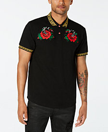 Reason Men's Venom Embroidered Polo