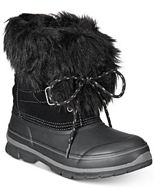 Khombu Women's Brooke Cold-Weather Waterproof Boots