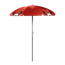 Picnic Time Minnie Mouse - 5.5-ft Portable Beach Umbrella