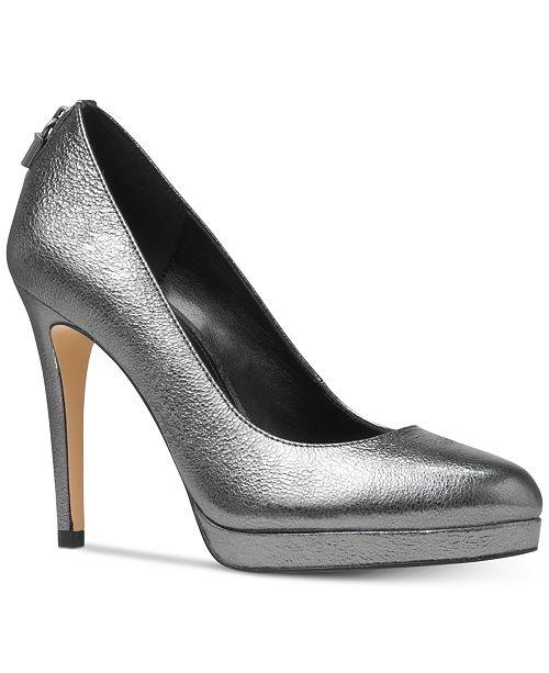 7a2f7d165d3d Michael Kors Antoinette Platform Pumps   Reviews - Pumps - Shoes ...