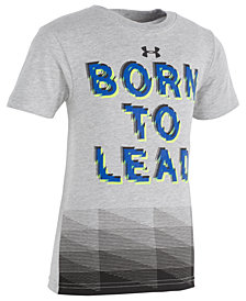 Under Armour Toddler Boys Lead-Print T-Shirt