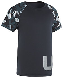 Under Armour Little Boys Printed-Sleeve T-Shirt