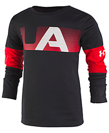 Under Armour Little Boys Logo-Print T-Shirt