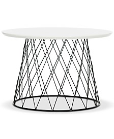 Roper Lacquer End Table, Quick Ship