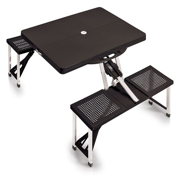 Picnic Time Oniva® by Picnic Table Portable Folding Table with Seats