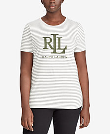 Lauren Ralph Lauren Plus Size Graphic T-Shirt