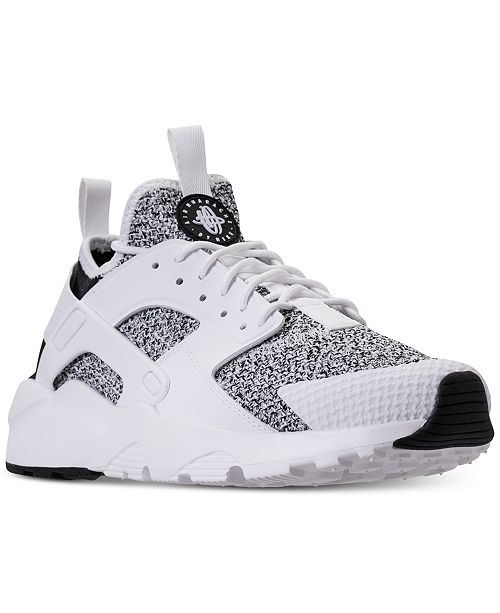 super popular 5cf3f 6a71a ... Nike Men s Air Huarache Run Ultra SE Casual Sneakers from Finish ...
