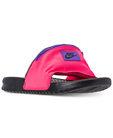 Nike Men's Benassi JDI Fanny Pack Slide Sandals from Finish Line