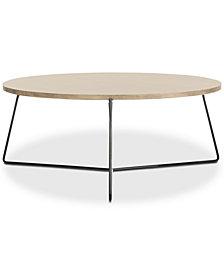 Mae Wood Coffee Table, Quick Ship