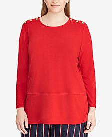 Lauren Ralph Lauren Plus Size Top