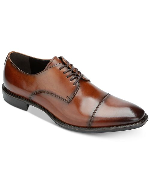 Kenneth Cole Reaction Men s Left Lace-Up Cap-Toe Oxfords - All Men s ... 7460b5b7c483