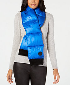 DKNY Quilted Puffer Scarf, Created for Macy's