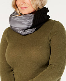 DKNY Puff Quilted Snood, Created for Macy's