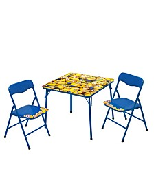 Minions 3-Piece Table & Chair Set