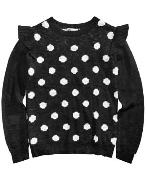 Epic Threads Big Girls Polka Dot Sweater Created for Macys