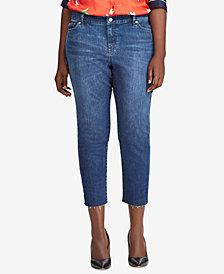 Lauren Ralph Lauren Plus Size Premier High-Rise Jeans