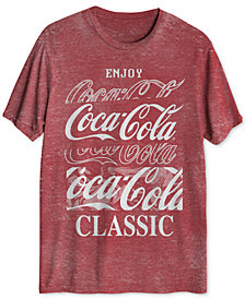 Coca-Cola Classic Blur Men's Graphic T-Shirt