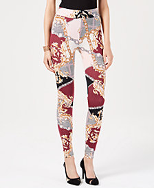 Thalia Sodi Chantal Printed Leggings, Created for Macy's