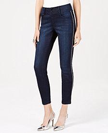 Thalia Sodi Chain-Stripe Skinny Jeans, Created for Macy's