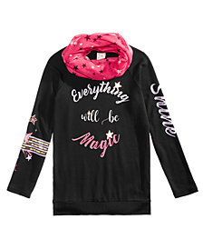 Belle Du Jour Big Girls 2-Pc. Tunic & Scarf Set