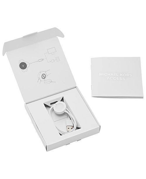 173d35998bd8 Michael Kors Access Runway Smart Watch Charger   Reviews - Watches ...