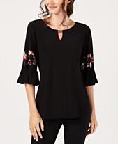 f594518852b1 bell sleeve tops - Shop for and Buy bell sleeve tops Online - Macy's