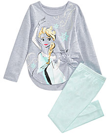 Disney Little Girls Elsa Tunic & Leggings Set