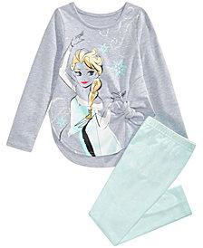 Disney Little Girls Elsa Tunic & Leggings Set