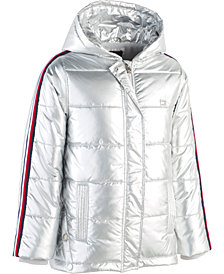 Tommy Hilfiger Big Girls Hooded Puffer Jacket