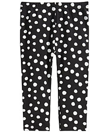 First Impressions Toddler Girls Dot-Print Leggings, Created for Macy's