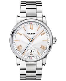 Men's Swiss Automatic 4810 Stainless Steel Bracelet Watch 42mm