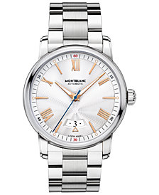 Montblanc Men's Swiss Automatic 4810 Stainless Steel Bracelet Watch 42mm